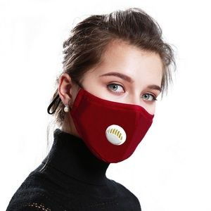 Cloth Respirator Face Mask Washable with 2 Filters